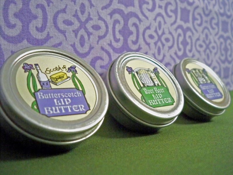 Dessert lip butter package